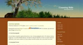 Free Blogger Theme – Country Side
