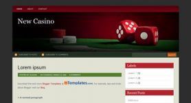 Free Blogger Theme – New Casino