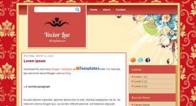 Free Blogger Theme – Vector Luv